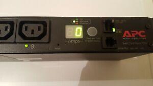 APC AP7920 Rack PDU 1U, 12A/208V, 10A/230V, 8xC13)