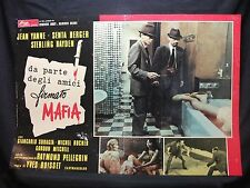 FOTOBUSTA CINEMA -DA PARTE DEGLI AMICI FIRMATO MAFIA-J. YANNE-1971-POLIZIESCO-01