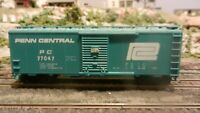 Athearn BB 40' Boxcar, Penn Central, Upgraded, Exc