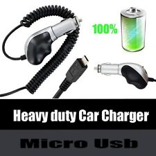 Premium Heavy Duty Turbo Micro USB Car Charger For Mophie Juice Pack Battery