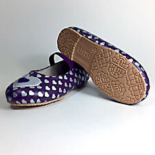 NIB Umi Kids Irena Leather Ballet Flat Shoes Size 8 Toddler