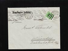 Germany Inflation 75000 Marks Newspaper Frankfurter Zeitung 1923 Cover ¼