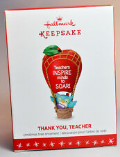 Hallmark: Thank You, Teacher - Inspire Minds To Soar! - 2016 Keepsake Ornament
