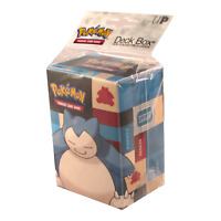 Ultra Pro Pokemon TCG Snorlax Deck Box Card Storage/Holder With Divider