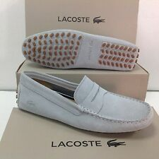 Lacoste Concours Suede Men's Slip on Loafers Shoes, Size UK 8 / EU 42