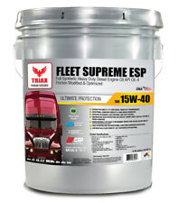 FULL SYNTHETIC - TRIAX FLEET SUPREME 15W-40 CK-4/CJ-4 Motor Oil (5 GALLON)