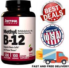 VITAMIN B12 500 mcg Methyl Supports Brain Energy Cells Nerve Tissue 100 Lozenges