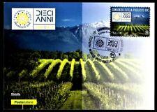 Italy 2019: Prosecco-Postcard Official Poste Italiane, revoke Trieste