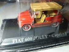 """1/43 Fiat 600 Jolly """"Capri"""" 1966 """"Taxi du Monde"""" IXO Altaya (230)"""