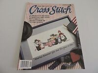 For the Love of Cross Stitch Magazine September 1990 Main Street USA 20 Projects