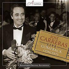 Jose Carreras - Live  The Comeback Concerts [CD]