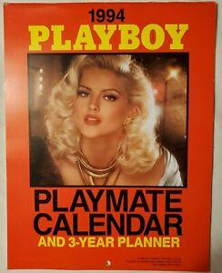 1994 PLAYBOY PLAYMATE CALENDAR PAMELA ANDERSON, ERIKA ELENIAK, ANNA NICOLE SMITH