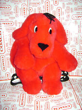"CLIFFORD THE BIG RED DOG TODDLER CHILD BACKPACK PLUSH 15"" SCHOLASTIC VERY CUTE"