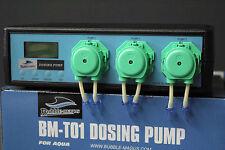 Bubble Magus Dosierpumpe 3-Kanal Basisgerät BM-T01 Neue Ausführung!Vorführmodell