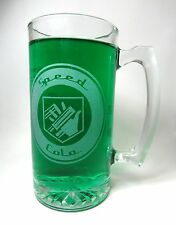 Speed Cola Etched Glass Beer Mug. Hand Made COD Zombies Inspired Speed Cola Mug