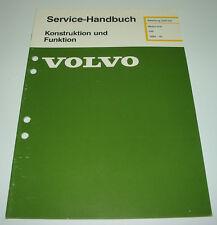 Werkstatthandbuch Volvo 340 Motor D 16 / D16 Motoraufhängung ab Baujahr 1984
