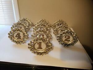 Wedding Table Numbers - Table Decor Stand Up Numbers 1- 10