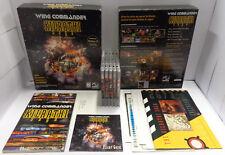 PC Computer Game Gioco Big Box CD-ROM ENG - WING COMMANDER The Kilrathi Saga -