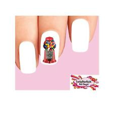 Waterslide Gumballs Nail Decals Set of 20 - Candy Gumball Machine