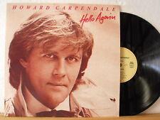 """12"""" LP - HOWARD CARPENDALE - Hello Again - OIS - EMI Club-Edition 1984"""