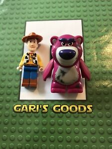 Lego Toy Story Woody & Lotso Minifigures GENUINE & NEW