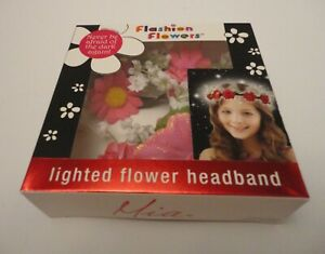 Flowers Headband Light Girl Flash in Dark Beauty Party Birthday Hair Accessories