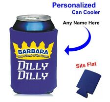 True Friend of the Crown-Dilly Dilly, Neoprene Royal Coolie - Personalized Free