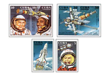 KUB9106 Space Shuttle Columbia and research station 6 pcs