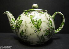 Heron Cross Pottery Lily Of The Valley Chintz English 3 Cup Tea Pot or 2 mugs