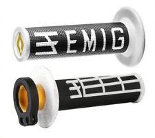 ODI Emig V2 Lock Clamp On Handlebar Handle Bar Hand Grip MX 7/8 YZ CRF H36EMBW