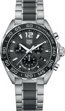 Tag Heuer Formula 1 Black Dial Quartz Chronograph Men's Watch CAZ1011.BA0843