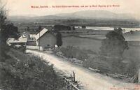 SAINT-DIDIER-SUR-ARROUX - vue sur le Mont Beuvray et le Morvan