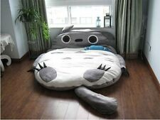 M size DOUBLE  Totoro Cartoon Bed Mattress Large Bean Bag Sofa Lounge3.1m*1.8M