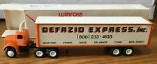 Winross White Defazio Express Tractor/Trailer 1/64