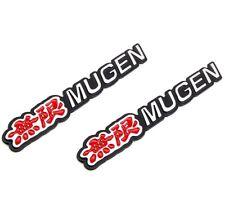 3D Car Trunk Emblem Badge Sticker Decal MUGEN for HONDA CIVIC ACURA - Red x2
