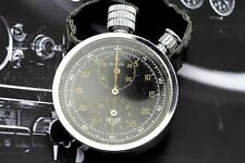Vintage HEUER AUTAVIA Dashboard Rally TROPIC Timer Stopwatch TRI-DIAL Working
