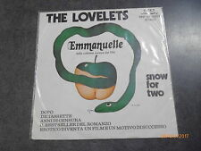THE LOVELETS - EMMANUELLE - 45 GIRI
