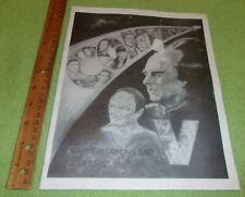 1997 Sci-Fi Convention Continuum V Andrew Robinson Autograph Cape Girardeau