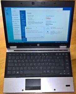 "EliteBook 8440p 14,1"" AKKU NEU WXGA NVS3100M i5 8GB 250G SSD W10 Office2016"
