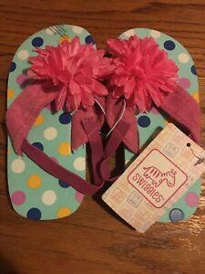 Swiggles Polka Dot Girl's Sandals Size Toddler L(9-10)