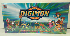 NEW - DIGIMON MONSTERS THE ULTIMATE ADVENTURE BOARD GAME - SEALED - MADE IN 2000