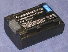 Batteria 900mAh tipo NP-FV30 NP-FV50 Per Sony HDR-CX115E