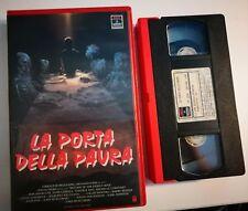 VHS LA PORTA DELLA PAURA  di John Murlowski [RCA]