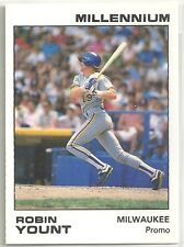Robin Yount 1991 Star Company Brewers Millennium Series Promo Card (200 Made)