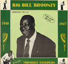 "BIG BILL BROONZY ""MIDNIGHT STEPPERS"" CHICAGO JUMP BLUES LP SWINGTIME 2001"