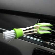 Car Vent Air-Condition Blind Cleaner Keyboard Duster Double Heads Cleaning Brush