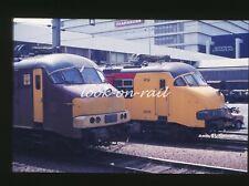 e167 - Dia slide 35mm original Eisenbahn Holland, NS PTT Mp Motorpost 30, '80s