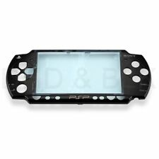 For PSP 2000 / 2001 / 2002 Faceplate - Piano Black - ORIGINAL