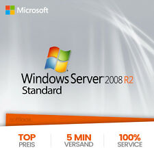 MS Windows Server 2008 R2 Standard | Vollversion | Original | Blitzversand