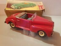 Tin toy 1949 Marchesini-Bologna mechanical FORD CABRIOLET very nice, repainted.